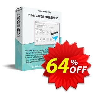Puzzle Maker Pro - Time Saver for Bingo discount coupon Puzzle Maker Pro - Time Saver for Bingo Wondrous offer code 2020 - Wondrous offer code of Puzzle Maker Pro - Time Saver for Bingo 2020
