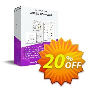 Puzzle Maker Pro - JigSaw Triangles discount coupon Puzzle Maker Pro - JigSaw Triangles Marvelous deals code 2021 - Marvelous deals code of Puzzle Maker Pro - JigSaw Triangles 2021
