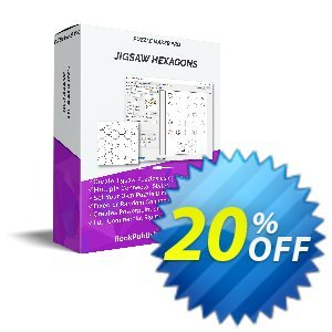 Puzzle Maker Pro - JigSaw Hexagons discount coupon Puzzle Maker Pro - JigSaw Hexagons Impressive sales code 2021 - Impressive sales code of Puzzle Maker Pro - JigSaw Hexagons 2021