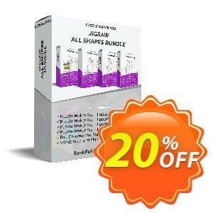 Puzzle Maker Pro - JigSaw All Shapes Bundle discount coupon Puzzle Maker Pro - JigSaw All Shapes Bundle Best offer code 2021 - Best offer code of Puzzle Maker Pro - JigSaw All Shapes Bundle 2021