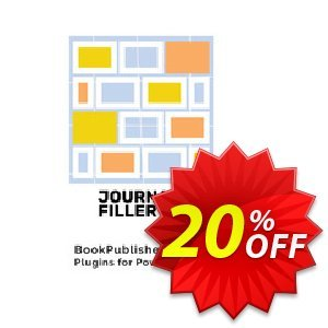 Journal Filler Coupon, discount Journal Filler (Plugin for Powerpoint) Staggering discount code 2021. Promotion: Staggering discount code of Journal Filler (Plugin for Powerpoint) 2021