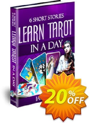 Six Short Stories to Learn Tarot in a Day Coupon, discount Six Short Stories to Learn Tarot in a Day formidable discount code 2021. Promotion: formidable discount code of Six Short Stories to Learn Tarot in a Day 2021