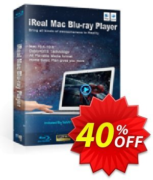 iReal Mac Blu-ray Player discount coupon iReal Mac Blu-ray Player hottest discount code 2020 - hottest discount code of iReal Mac Blu-ray Player 2020
