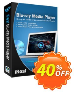iReal Blu-ray Media Player Coupon, discount iReal Blu-ray Media Player stunning offer code 2021. Promotion: stunning offer code of iReal Blu-ray Media Player 2021