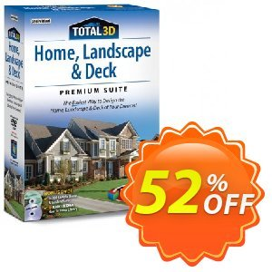Total 3D Home, Landscape & Deck Premium Suite Coupon, discount 40% OFF Total 3D Home, Landscape & Deck Premium Suite, verified. Promotion: Amazing promo code of Total 3D Home, Landscape & Deck Premium Suite, tested & approved
