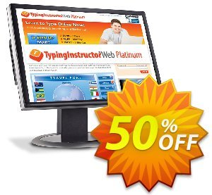 TypingInstructor Web Platinum (Annual Subscription) discount coupon 30% OFF TypingInstructor Web Platinum, verified - Amazing promo code of TypingInstructor Web Platinum, tested & approved
