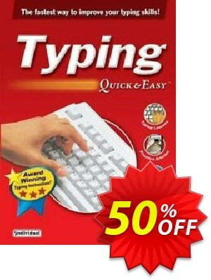 Typing Quick & Easy discount coupon 30% OFF Typing Quick & Easy, verified - Amazing promo code of Typing Quick & Easy, tested & approved
