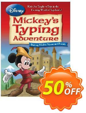 Disney: Mickey's Typing Adventure - International Version UK Keyboard discount coupon 30% OFF Disney: Mickey's Typing Adventure - International Version UK Keyboard, verified - Amazing promo code of Disney: Mickey's Typing Adventure - International Version UK Keyboard, tested & approved