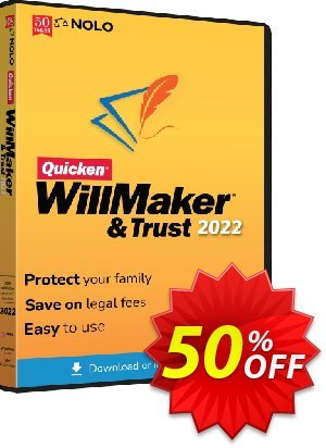 Quicken WillMaker Plus 2020 Coupon, discount Quicken® WillMaker® Plus 2020 - Windows Super promo code 2020. Promotion: Amazing promo code of Quicken® WillMaker Plus 2020, tested in October 2020