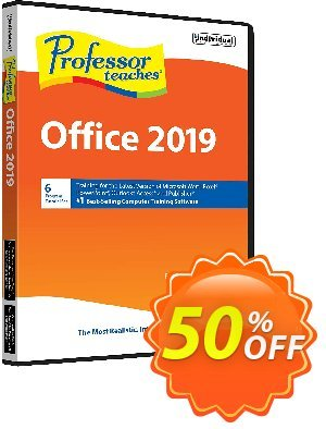 Professor Teaches Office 2019 discount coupon Black Friday & Cyber Monday Are Here! - hottest offer code of Professor Teaches® Office 2020 2020