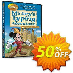 Disney: Mickey's Typing Adventure Gold discount coupon TYPENOW - fearsome deals code of Disney: Mickey's Typing Adventure – Gold (Windows) 2021