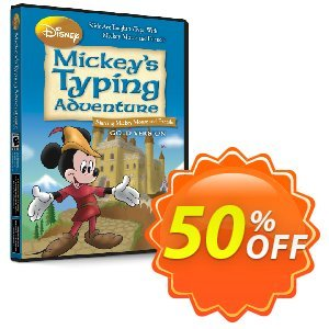 Disney: Mickey's Typing Adventure Gold for Mac discount coupon TYPENOW - imposing sales code of Disney: Mickey's Typing Adventure – Gold (Mac) 2021