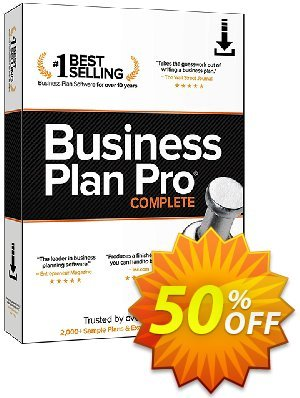 Business Plan Pro Complete discount coupon Holiday 2020! - amazing sales code of Business Plan Pro Complete 2020