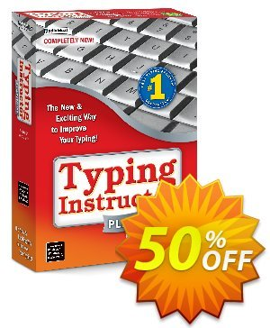 Typing Instructor Platinum - International Version US Keyboard 프로모션 코드 30% OFF Typing Instructor Platinum - International Version US Keyboard, verified 프로모션: Amazing promo code of Typing Instructor Platinum - International Version US Keyboard, tested & approved