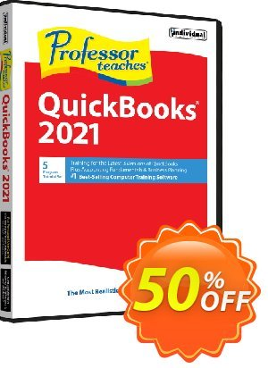 Professor Teaches QuickBooks 2020 Coupon, discount Professor Teaches® QuickBooks® 2020 Tutorial Set Downloads Fearsome sales code 2020. Promotion: Fearsome sales code of Professor Teaches® QuickBooks® 2020 Tutorial Set Downloads 2020