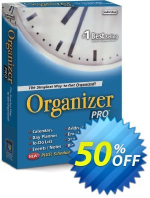 Organizer Pro discount coupon 30% OFF Organizer Pro, verified - Amazing promo code of Organizer Pro, tested & approved