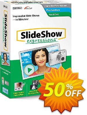 SlideShow Expressions Deluxe 2 Coupon, discount 30% OFF SlideShow Expressions Deluxe 2, verified. Promotion: Amazing promo code of SlideShow Expressions Deluxe 2, tested & approved