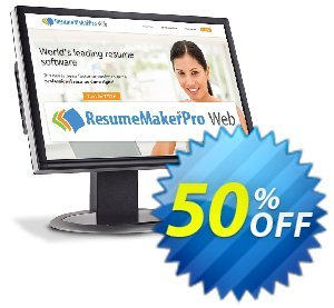 ResumeMaker Professional for Web (Annual Subscription)Disagio 30% OFF ResumeMaker Professional for Web, verified
