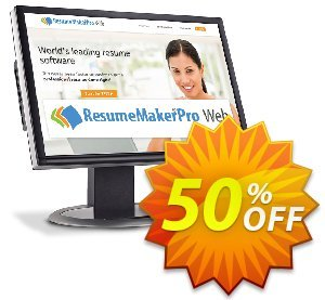 ResumeMaker Professional for Web (Quarterly Subscription) discount coupon 30% OFF ResumeMaker Professional for Web (Quarterly Subscription), verified - Amazing promo code of ResumeMaker Professional for Web (Quarterly Subscription), tested & approved