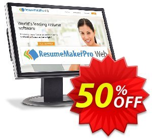 ResumeMaker Professional for Web (Monthly Subscription) 優惠券,折扣碼 30% OFF ResumeMaker Professional for Web (Monthly Subscription), verified,促銷代碼: Amazing promo code of ResumeMaker Professional for Web (Monthly Subscription), tested & approved