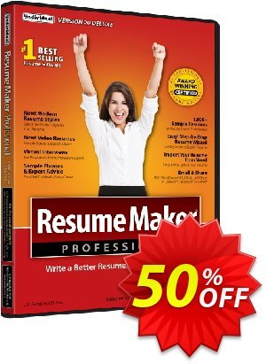 ResumeMaker Professional Deluxe discount coupon Holiday 2020! - stirring promo code of ResumeMaker Professional Deluxe 2020