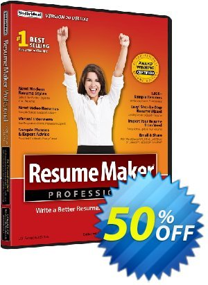 ResumeMaker Ultimate Coupon discount ResumeMaker Ultimate best deals code 2020. Promotion: best deals code of ResumeMaker Ultimate 2020
