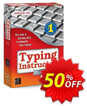 Typing Instructor Platinum - Windows Coupon, discount Black Friday & Cyber Monday Are Here!. Promotion: big offer code of Typing Instructor Platinum - Windows 2020