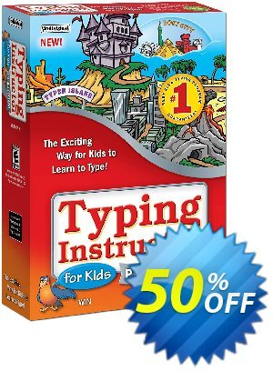 Typing Instructor for Kids Platinum Coupon, discount Black Friday & Cyber Monday Are Here!. Promotion: hottest discount code of Typing Instructor for Kids Platinum - Windows 2020