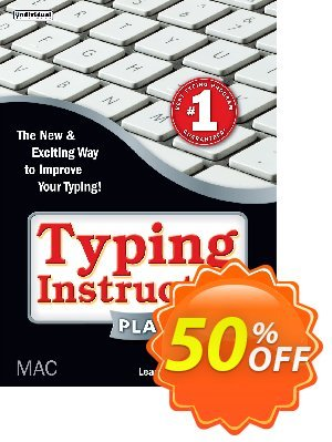 Typing Instructor Platinum - Mac Coupon, discount Black Friday & Cyber Monday Are Here!. Promotion: stunning offer code of Typing Instructor Platinum - Mac 2020