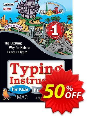 Typing Instructor for Kids Platinum (Mac) discount coupon Black Friday & Cyber Monday Are Here! - hottest discount code of Typing Instructor for Kids Platinum - Mac 2020
