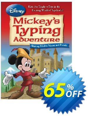 Disney: Mickey's Typing Adventure discount coupon 58% OFF Disney: Mickey's Typing Adventure, verified - Amazing promo code of Disney: Mickey's Typing Adventure, tested & approved