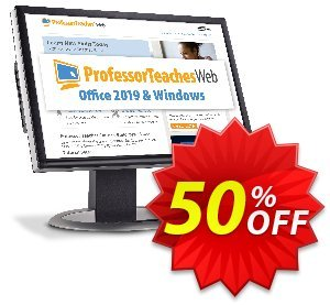 Professor Teaches Web - Office 2019 & Windows 10 (Quarterly Subscription) discount coupon 30% OFF Professor Teaches Web - Office 2021 & Windows 10 (Quarterly Subscription), verified - Amazing promo code of Professor Teaches Web - Office 2021 & Windows 10 (Quarterly Subscription), tested & approved