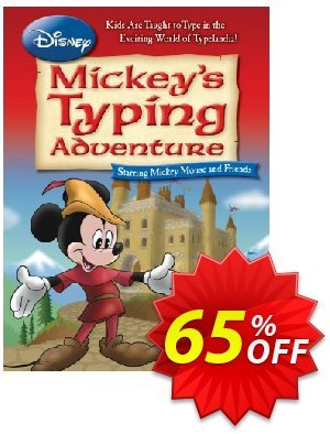 Disney: Mickey's Typing Adventure for Mac discount coupon Black Friday & Cyber Monday Are Here! - dreaded sales code of Disney: Mickey's Typing Adventure (Mac) 2021