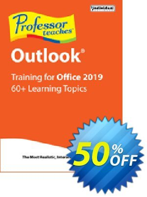 Professor Teaches Outlook 2019 discount coupon Professor Teaches Outlook 2013 super promotions code 2020 - super promotions code of Professor Teaches Outlook 2013 2020