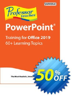 Professor Teaches PowerPoint 2019 Coupon, discount Professor Teaches PowerPoint 2013 special discount code 2020. Promotion: special discount code of Professor Teaches PowerPoint 2013 2020