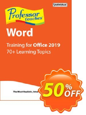 Professor Teaches Word 2019 discount coupon Professor Teaches Word 2013 best sales code 2020 - best sales code of Professor Teaches Word 2013 2020