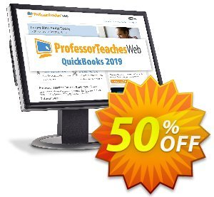 Professor Teaches Web QuickBooks 2019 (Quarterly Subscription) discount coupon 30% OFF Professor Teaches Web QuickBooks 2019 (Quarterly Subscription), verified - Amazing promo code of Professor Teaches Web QuickBooks 2019 (Quarterly Subscription), tested & approved