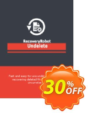 RecoveryRobot Undelete [Business] Coupon discount RecoveryRobot Undelete [Business] amazing sales code 2020. Promotion: amazing sales code of RecoveryRobot Undelete [Business] 2020