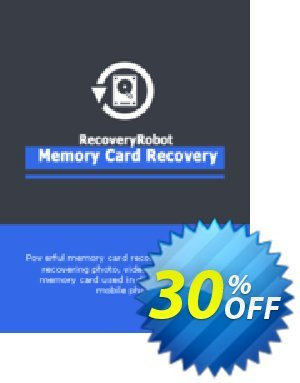RecoveryRobot Memory Card Recovery [Expert] discount coupon RecoveryRobot Memory Card Recovery [Expert] wondrous promotions code 2020 - wondrous promotions code of RecoveryRobot Memory Card Recovery [Expert] 2020