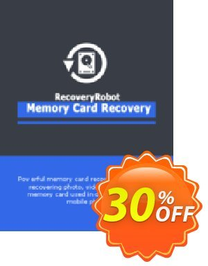 RecoveryRobot Memory Card Recovery [Business] Coupon, discount RecoveryRobot Memory Card Recovery [Business] amazing offer code 2021. Promotion: amazing offer code of RecoveryRobot Memory Card Recovery [Business] 2021