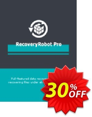 RecoveryRobot Pro [Single User] Coupon, discount RecoveryRobot Pro [Single User] exclusive promotions code 2021. Promotion: exclusive promotions code of RecoveryRobot Pro [Single User] 2021
