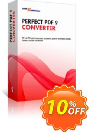 Perfect PDF 9 Converter Coupon discount Perfect PDF 9 Converter imposing deals code 2021