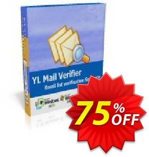 YL Mail Verifier - Personal License discount coupon YL Mail Verifier - Personal License big sales code 2020 - big sales code of YL Mail Verifier - Personal License 2020