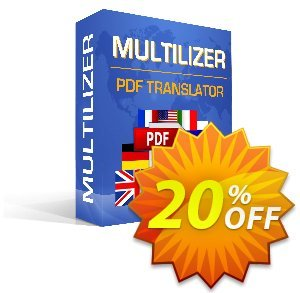 Multilizer PDF Translator Standard (Türkçe) Coupon discount Multilizer PDF Translator Standard (Türkçe) wonderful promo code 2020 - wonderful promo code of Multilizer PDF Translator Standard (Türkçe) 2020