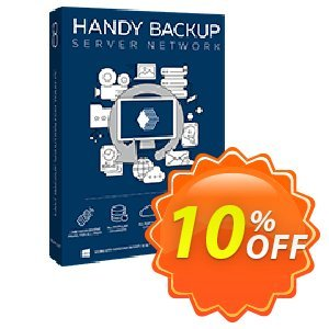 Handy Backup Server Network Coupon, discount Handy Backup Server Network awesome discount code 2020. Promotion: awesome discount code of Handy Backup Server Network 2020