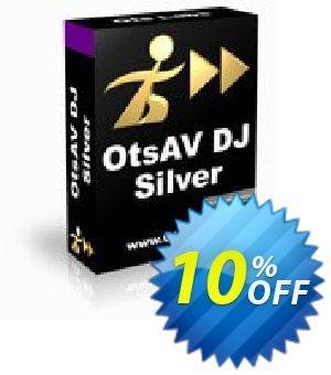 OtsAV DJ Silver Coupon, discount OtsAV DJ Silver amazing promo code 2019. Promotion: amazing promo code of OtsAV DJ Silver 2019