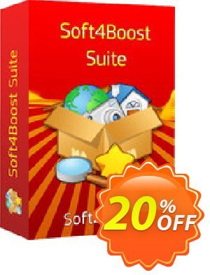 Soft4Boost Suite Coupon, discount Soft4Boost Suite wondrous discounts code 2020. Promotion: wondrous discounts code of Soft4Boost Suite 2020