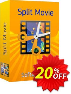 Soft4Boost Split Movie 프로모션 코드 Soft4Boost Split Movie marvelous discounts code 2020 프로모션: marvelous discounts code of Soft4Boost Split Movie 2020
