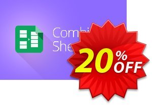 Combine Sheets add-on for Google Sheets, Lifetime subscription Coupon, discount Combine Sheets add-on for Google Sheets, Lifetime subscription exclusive sales code 2020. Promotion: exclusive sales code of Combine Sheets add-on for Google Sheets, Lifetime subscription 2020