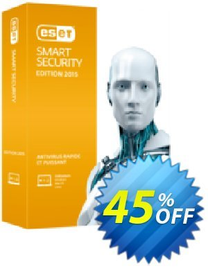 ESET Smart Security - Réabonnement 3 ans pour 3 ordinateurs  가격을 제시하다